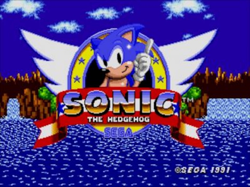 Retro Sega Games and a Mini Mega Drive